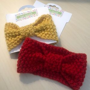 NWT Set of 2 Crocheted Baby Headband